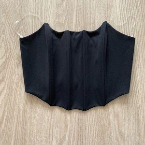 Women's corset tube top